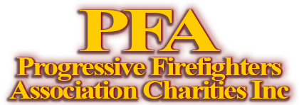 PFA Charities INC website Logo